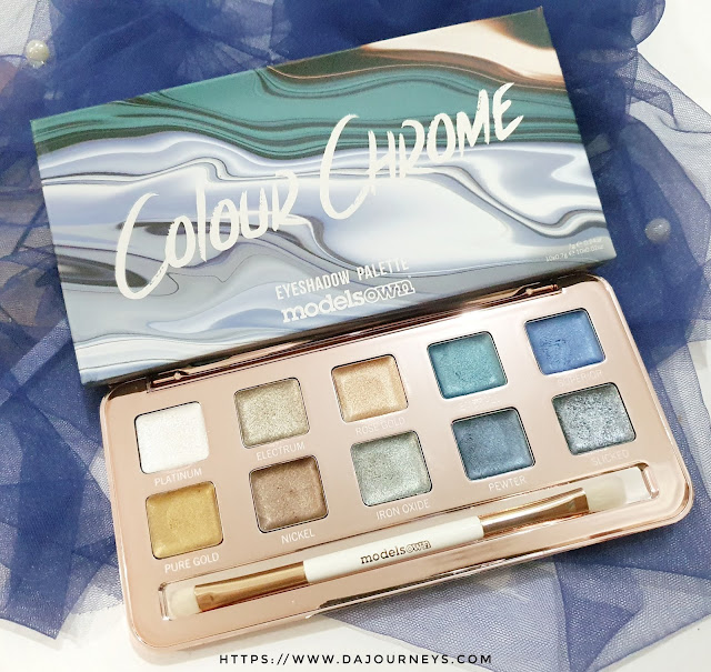 [Review] Models Own Colour Chrome Eyeshadow Palette