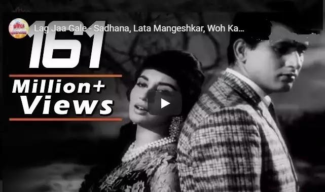 लिरिक्स आफ लग जा गले Lyrics of Lag Ja Gale-Lata Mangeshkar