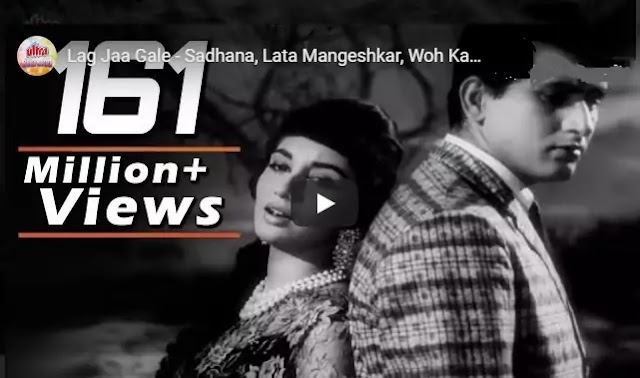 लिरिक्स आफ लग जा गले Lyrics of Lag Ja Gale in hindi-Lata Mangeshkar