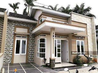 Desain Rumah 9x12 3 Kamar Tidur Sederhana