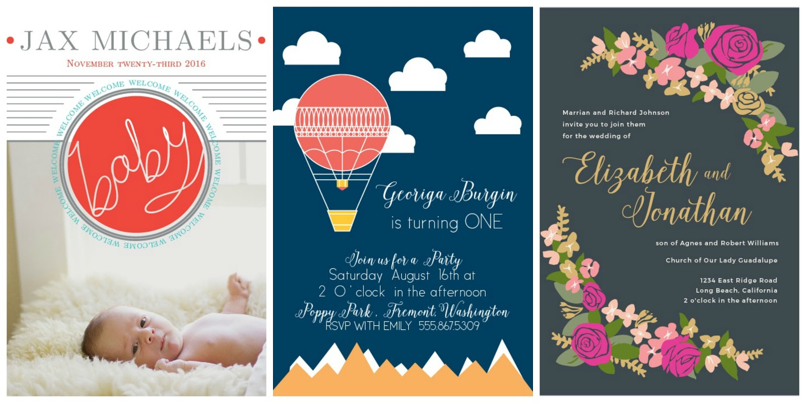 basic invite the cutest in custom stationery and invitations