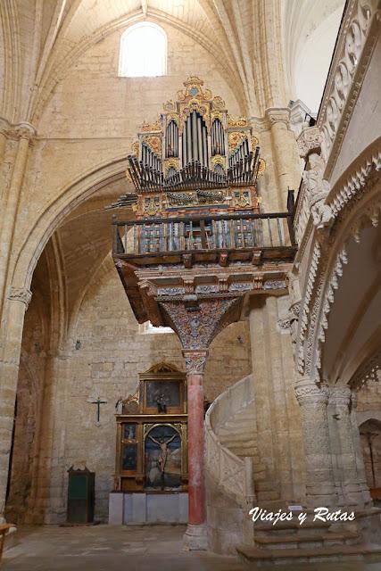 Órgano de San Hipólito el Real de Támara de Campos