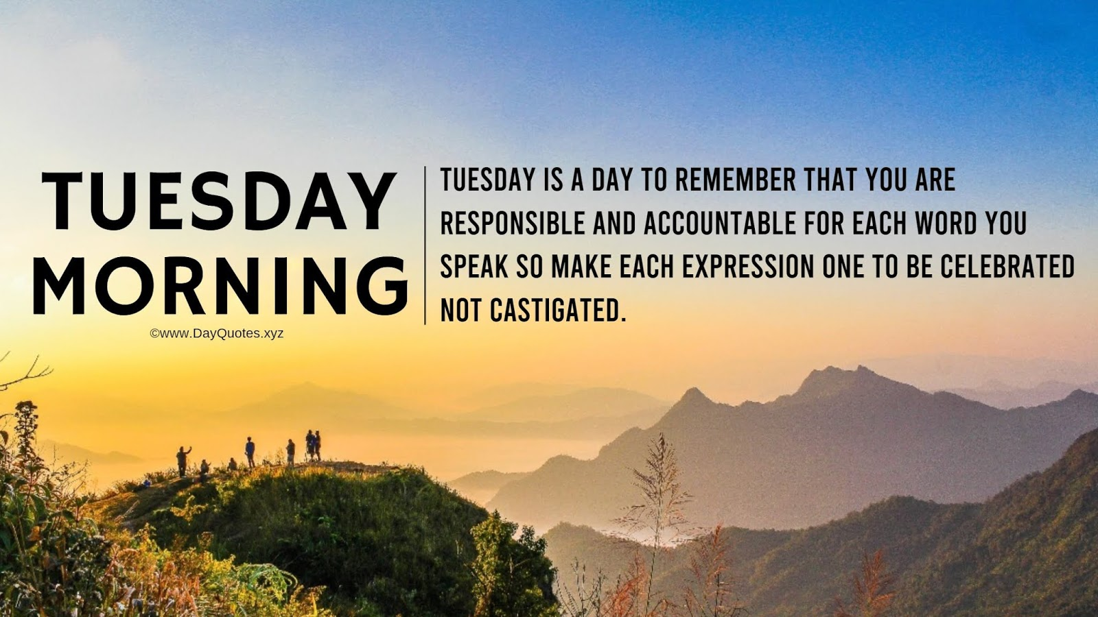Quotes For Tuesday Morning