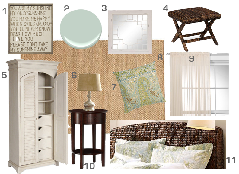 Home with Baxter  How to Create a Mood Board Using Photoshop Elements