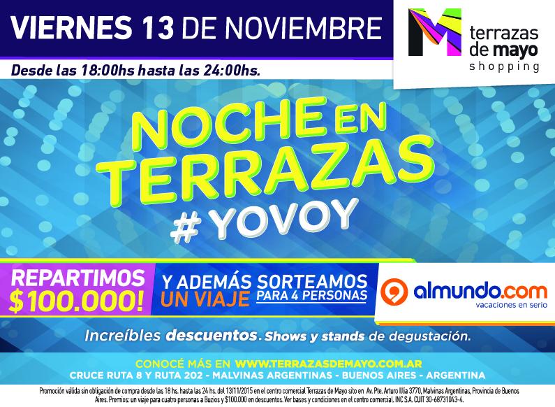 Mundo Norte Terrazas De Mayo Shopping Presenta Noche En