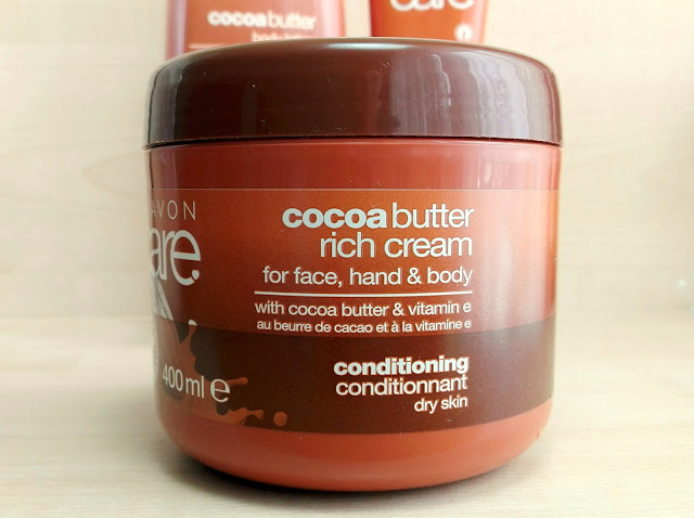Avon Care Cocoa Butter Rich Cream for Face, Hand & Body