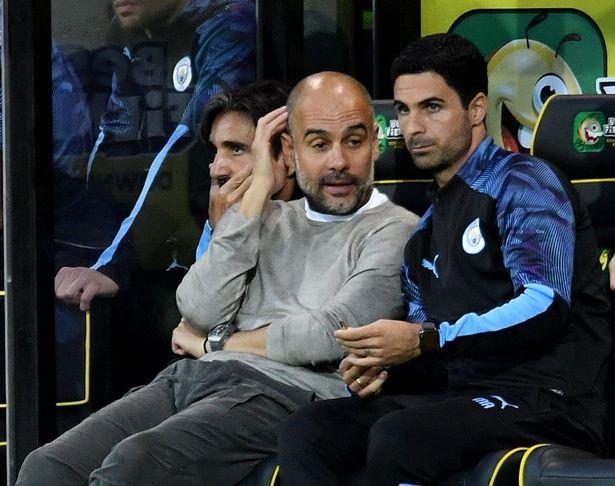 Arteta được Guardiola cố vấn chiến thuật