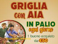 Logo Concorso ''Griglia con AIA'' e vinci buoni spesa da 50€