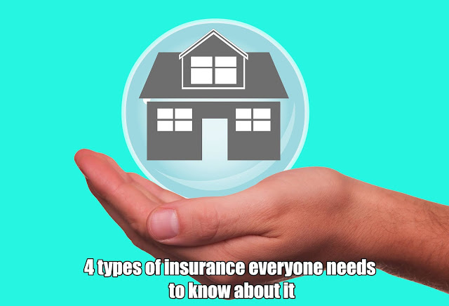 4 types of insurance everyone needs to know about it