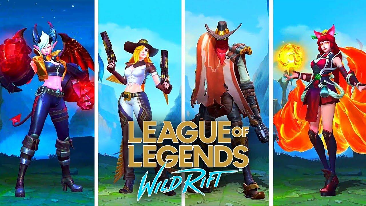 League of Legends Wild Rift Hileli Apk - Cryptzy Script Skin
