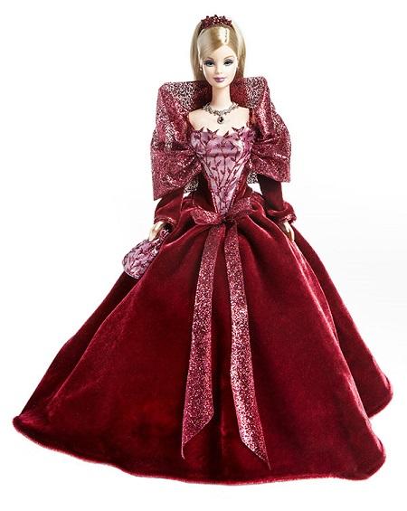 Barbie Coleção Feliz Natal 2002