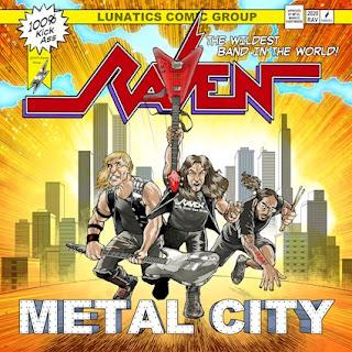 """Ο δίσκος των Raven """"Metal City"""""""