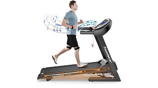 Famistar 15% Auto Incline Treadmill