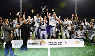FÚTBOL AMERICANO - Badalona Dracs nuevo campeón de la Copa de España en la segunda final de Black Demons
