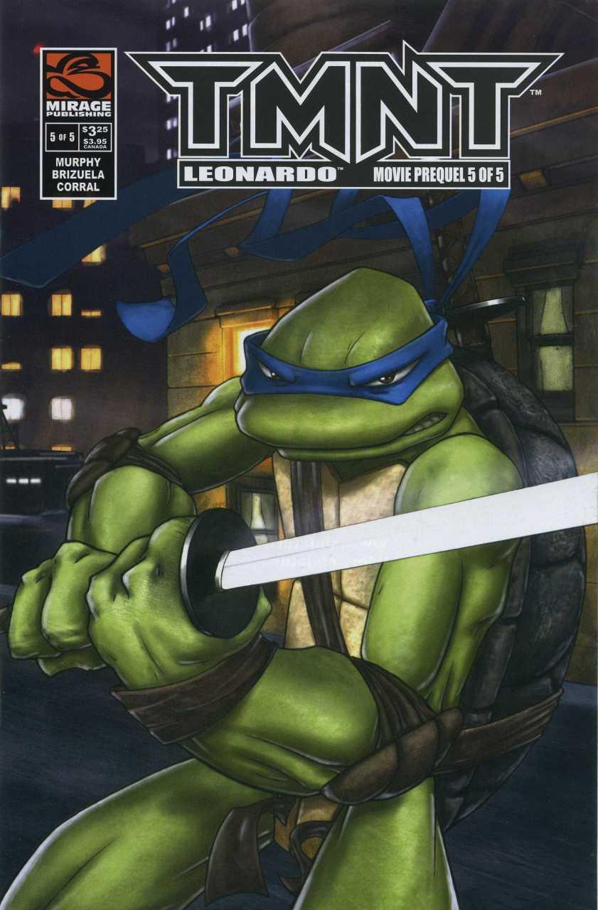 TMNT Entity TMNT Movie Prequel 5 Leonardo