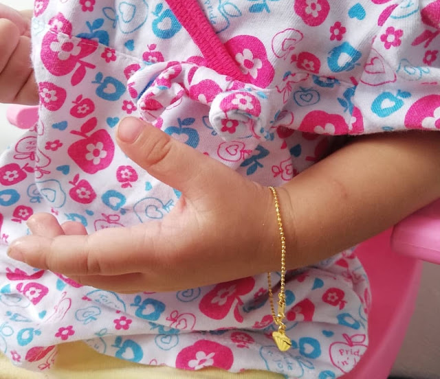 Hadiah gelang tangan emas dari ibu adira (ciktom ler)