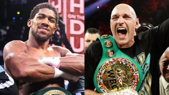 Anthony Joshua update on Tyson Fury's fight