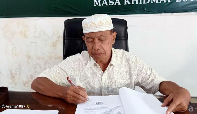 Ketua Umum MUI Lumajang KH. Ahmad Hanif
