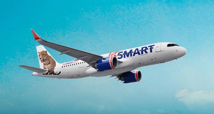 JetSmart para El Calafate. Retomou os vôos regulares