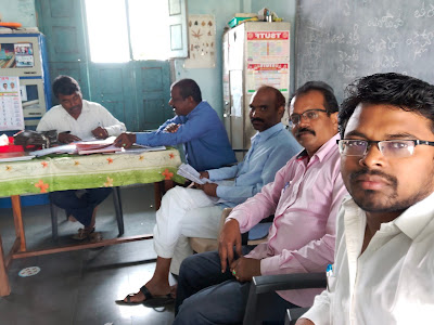 In Academic Monitoring Team at Mandal Level
