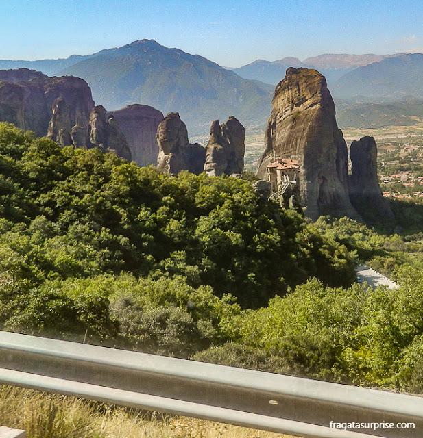 Mosteiro de Rossanou, Meteora, Grécia