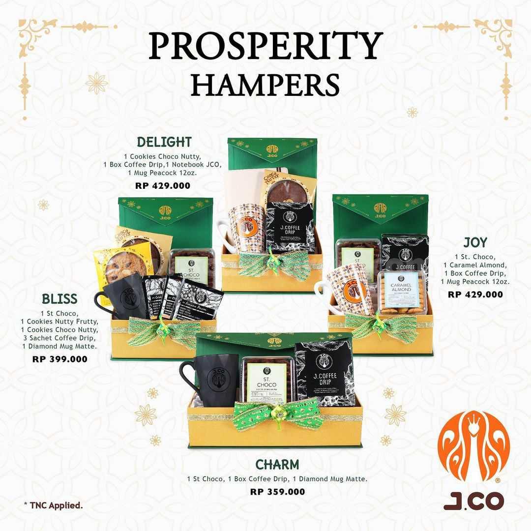 JCO Prosperity Hampers Harga Spesial Mulai Dari Rp359.000