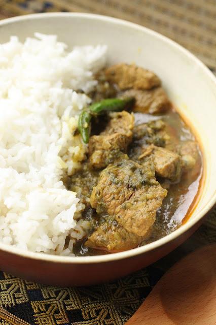curry d'agneau birman