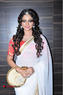 Actress Shilpi Sharma Pictures in White Saree at Kotikokkadu Audio Launch .COM 0108.JPG
