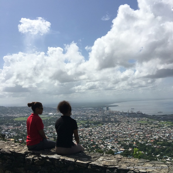 view from Fort George in Port of Spain, Trinidad
