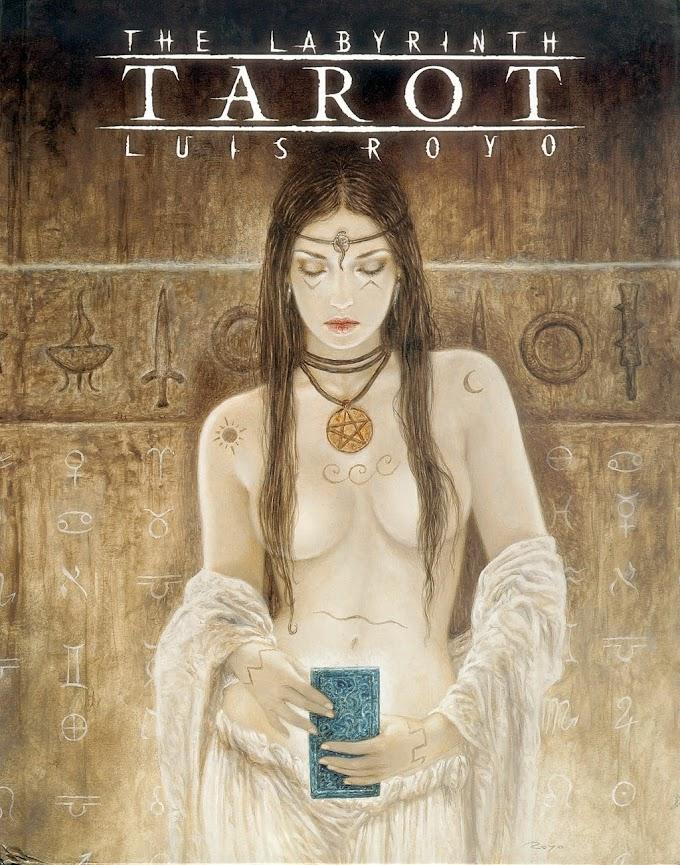 Luis Royo Labyrinth tarot (2005)