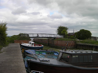 boats parked at eastney sailing club lock