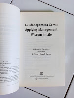 60 Management Gems: Applying Management Wisdom in Life