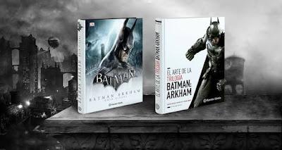 Arte trilogia Batman Arkham