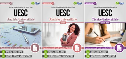 Apostila concurso Universidade Estadual de Santa Cruz UESC 2018