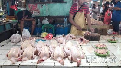 Harga Ayam Potong 1 Kg Hari ini 24 Desember 2020 di Pasar Winenet Tembus Rp 35.000
