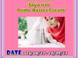 Giveaway Saya Nak Prime Buster Cream