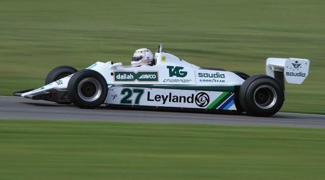 Williams FW07 1970s F1 car