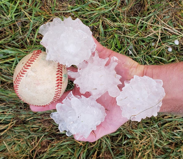 Colorado Weather Colorado Springs Hit Hard By Hail And: Just A Car Guy: Baseball Sized Hail Beat Up Colorado