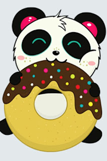 papel de parede wallpaper kawaii fofo  panda