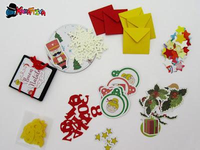 abbellimenti e decorazioni per il december daily