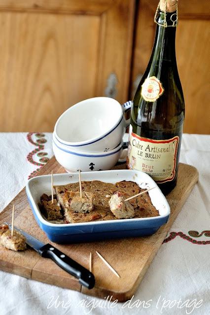 far-blé noir-lardon-échalotes-apéritif-breton