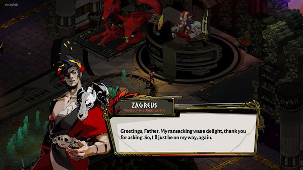 Hades Zagreus evening