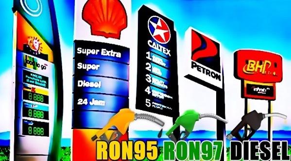 (NAIK!) Harga Minyak Petrol & Diesel Bermula 18 Mei Hingga 24 Mei