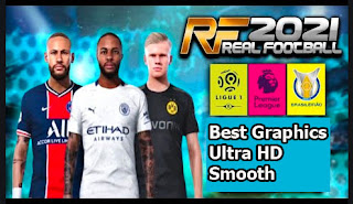 Download Real Football 21 Best Graphics Ultra HD Smooth Terbaru