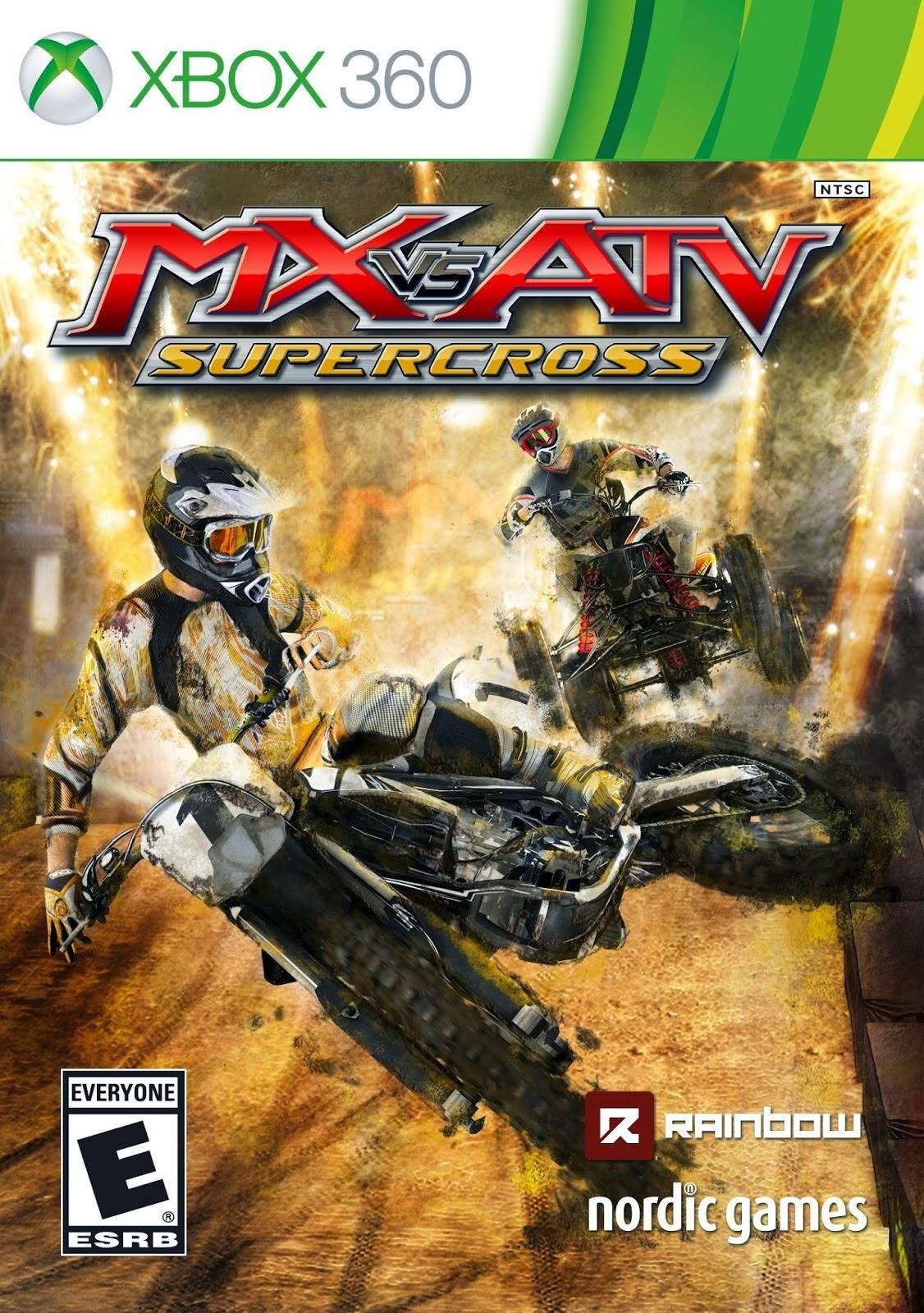 MX vs ATV Supercross Xbox360 free download full version