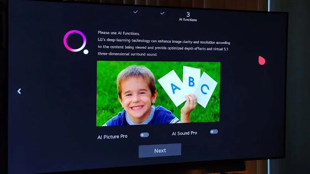cara agar smart tv lg jernih