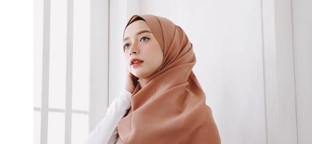 Simak Tutorial Hijab Pashmina Simple Dan Syar I Daichikazumi Com