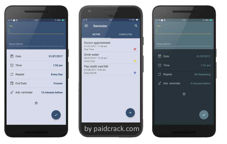 Reminder Pro Paid Apk 2.3.5 Free Download