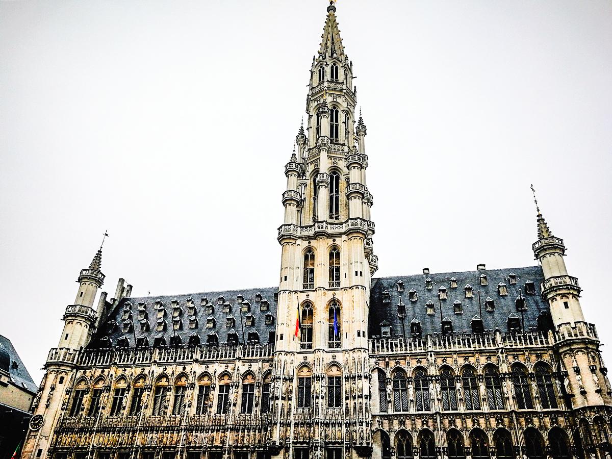 Bruksela świątecznie