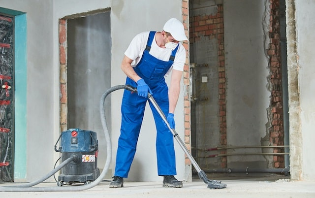 how to do post construction cleaning builder cleanup
